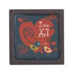Caja de la tarjeta del día de San Valentín de los  Caja De Joyas De Calidad