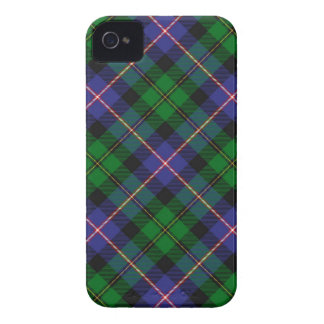 Caja de la tela escocesa de tartán de MacNeil Ipho iPhone 4 Case-Mate Protectores