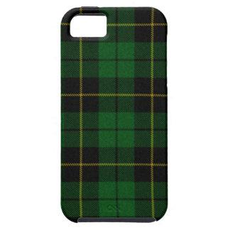 Caja de la tela escocesa iphone5 de la caza de iPhone 5 carcasas