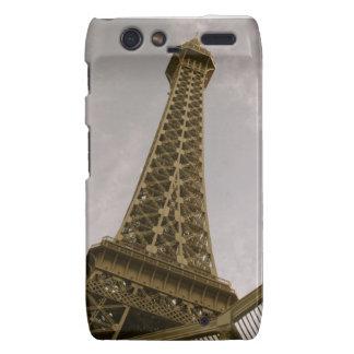 Caja de la torre Eiffel de Droid Razr Motorola Droid RAZR Carcasas