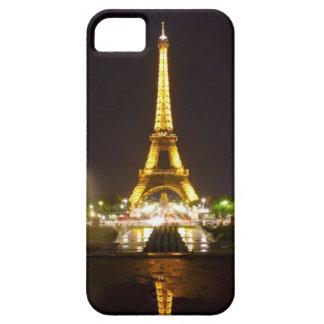 Caja de la torre Eiffel de Iphone 5 iPhone 5 Case-Mate Fundas