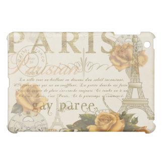 Caja de la torre Eiffel de los rosas de París del
