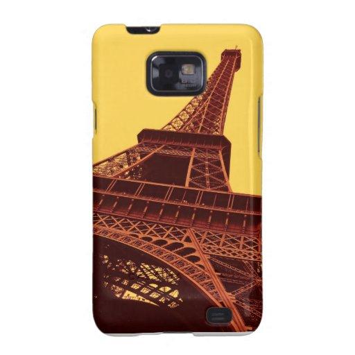 Caja de la torre Eiffel Galaxy SII Fundas