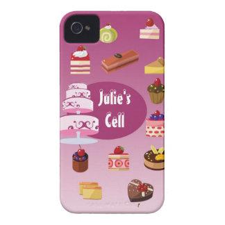 Caja de la torta de Julia iPhone 4 Cobertura