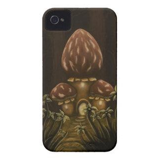 caja de la zarzamora de la fantasía de la casa de Case-Mate iPhone 4 protectores