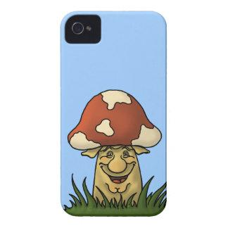 caja de la zarzamora de la seta del señor Case-Mate iPhone 4 coberturas