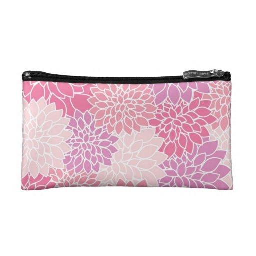 Caja de lápiz rosada del caso cosmético de la