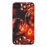 Caja de las burbujas del fuego Case-Mate iPhone 4 cárcasa