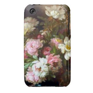 Caja de las flores del Peony Case-Mate iPhone 3 Coberturas