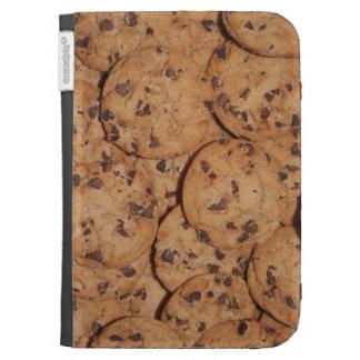 caja de las galletas de microprocesador de chocola