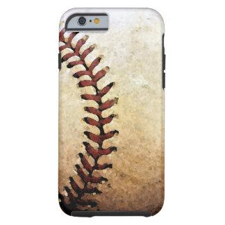 Caja de las ilustraciones del iPhone 6 del béisbol Funda Para iPhone 6 Tough