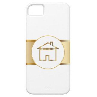 caja de las propiedades inmobiliarias del iPhone 5 Funda Para iPhone 5 Barely There