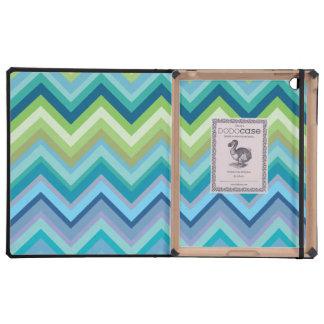 Caja de libro azul del Dodo del modelo IPAD 2 de C