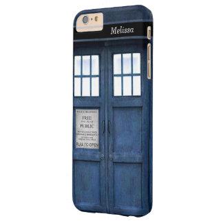 Caja de llamada británica de teléfono de la funda de iPhone 6 slim