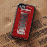 Caja de llamada roja de la cabina de teléfono de funda de iPhone 6 tough xtreme