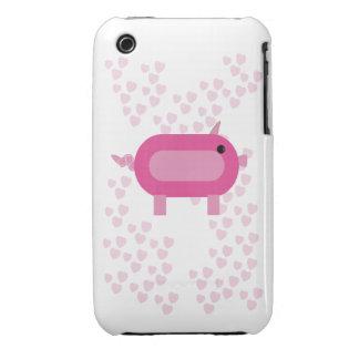 Caja de los corazones de Pioggy Funda Para iPhone 3