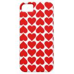 caja de los corazones iPhone 5 Case-Mate protector