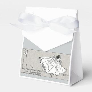 Caja de los favores de la princesa fiesta de cajas para detalles de boda