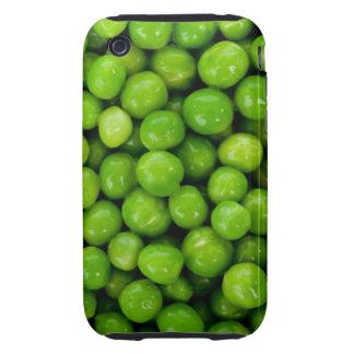 Caja de los guisantes verdes tough iPhone 3 protectores