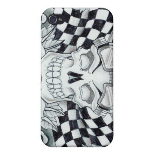 Caja de los huesos de la victoria de Dana Tyrrell iPhone 4 Fundas