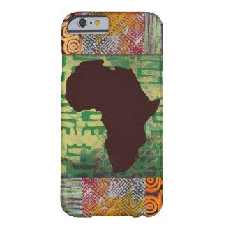 Caja de los modelos del batik de África Funda De iPhone 6 Barely There