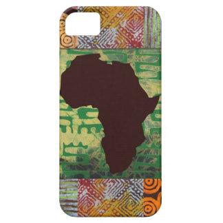 Caja de los modelos del batik de África iPhone 5 Coberturas