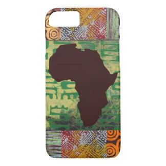 Caja de los modelos del batik de África Funda iPhone 7