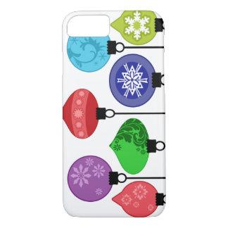 Caja de los ornamentos del navidad funda iPhone 7