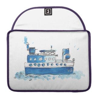 Caja de MacBook del barco de pesca Fundas Para Macbooks