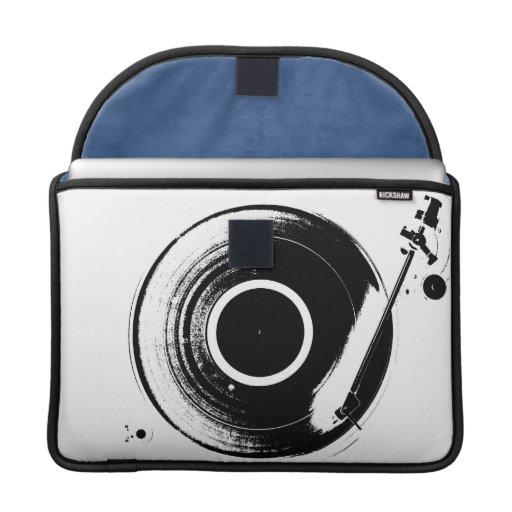 Caja de MacBook Pro del tema de la música Funda Macbook Pro