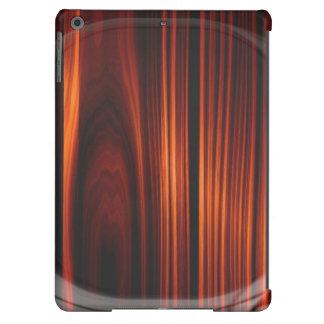 Caja de madera barnizada fresca del aire del iPad