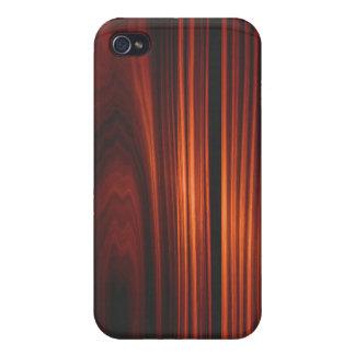 Caja de madera barnizada fresca del iPhone 4 iPhone 4 Fundas