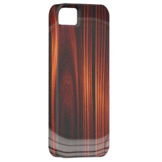 Caja de madera barnizada fresca del iPhone 5 de la iPhone 5 Cobertura