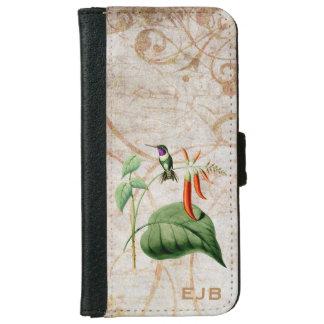 Caja de madera de la cartera del iPhone 6 del Funda Cartera Para iPhone 6