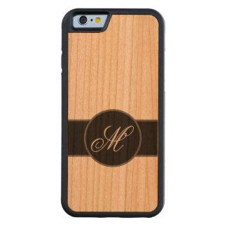 Caja de madera de la cereza del parachoque del funda de iPhone 6 bumper cerezo