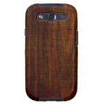 Caja de madera de la galaxia S3 de Samsung del gra Samsung Galaxy S3 Coberturas