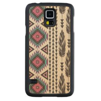 Caja de madera de la galaxia S5 de Samsung del Funda De Galaxy S5 Slim Arce
