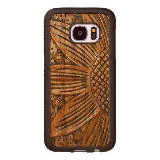 Caja de madera de la galaxia S7 de Samsung de la Fundas De Madera Para Samsung S7