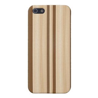 Caja de madera de la mota del iPhone 4/4S de la ta iPhone 5 Fundas