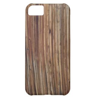 Caja de madera del grano del granero viejo para IP Carcasa Para iPhone 5C