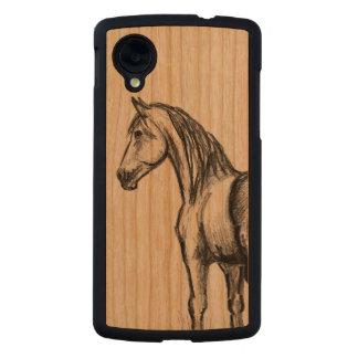 caja de madera del teléfono del nexo 5 de Google Funda De Nexus 5 Carved® De Cerezo
