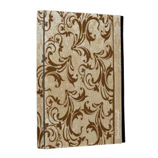Caja de madera impresa personalizada del iPad del