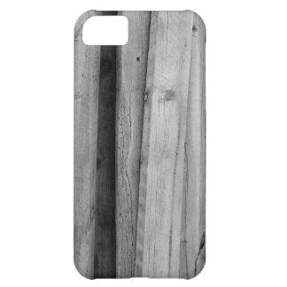 Caja de madera negra del iPhone 5 por la madera fi Funda Para iPhone 5C