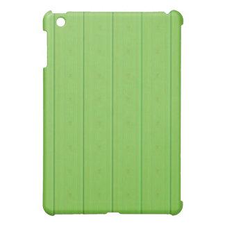Caja de madera verde de Ipad