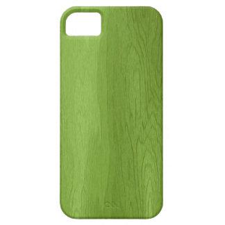 Caja de madera verde del iPhone 5 del diseño iPhone 5 Carcasa