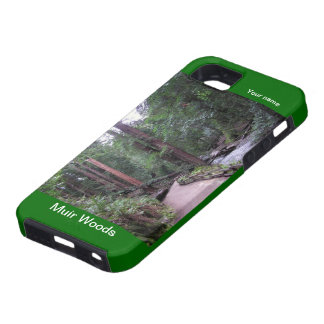 Caja de maderas Iphone5 Hardshell de Muir iPhone 5 Funda