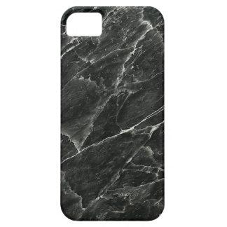 Caja de mármol negra del iPhone 5/5S de Barely iPhone 5 Carcasas