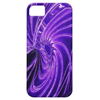 Caja de neón púrpura abstracta del iPhone 5 de la iPhone 5 Carcasas