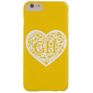 Caja de oro de Iphone 6Plus del logotipo de la Funda Para iPhone 6 Plus Barely There