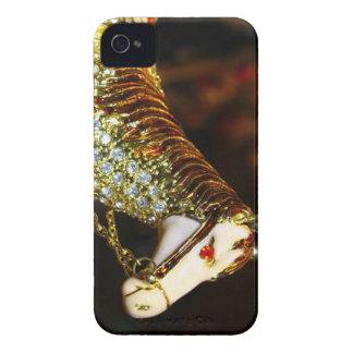 Caja de oro de Iphone del caballo Carcasa Para iPhone 4